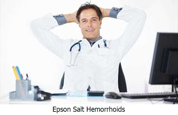 Epson Salt Hemorrhoids