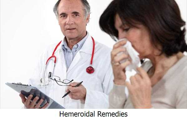 Hemeroidal Remedies