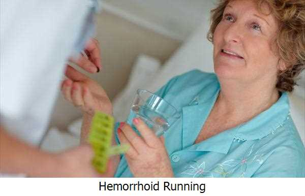 Hemorrhoid Running