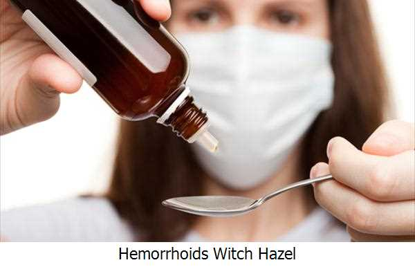 Hemorrhoids Witch Hazel
