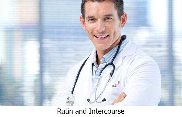 Rutin and Intercourse